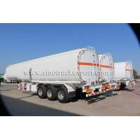 Buy cheap 3 FUWA/BPW Axles Carbon Steel Oil Tank Semi-trailer product