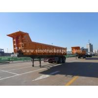 Buy cheap 2 FUWA/BPW Axles Front Tipping Semi-trailer product