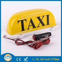 Buy cheap Magnetic Cab Top Light LED Light Taxi Roof Light Box Taxi Sign from wholesalers