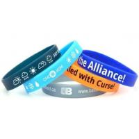 Buy cheap Screen Printed Silicone Wristbands from wholesalers
