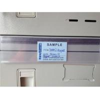 Buy cheap Label Holder with Magnet to Attached on the Shelves from wholesalers