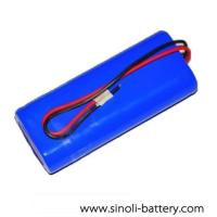 Buy cheap 3.7V 6000mAh 18650 Battery Pack from wholesalers