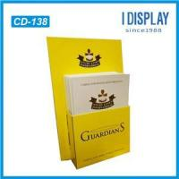 Buy cheap Cardboard Countertop Brochure Displays Holder For Leaflets from wholesalers