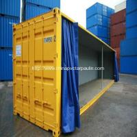 Buy cheap 850GSM 1000d PVC Tarpaulin Side Curtain for Trailer from wholesalers