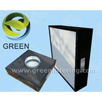 Buy cheap Mini-pleat HEPA ducted ceiling module from wholesalers