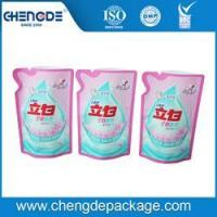 Buy cheap stand up shape bag for 500g liquid detergent packing product