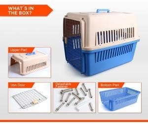 Quality Plastic&Aluminium rabbit cage FC-1004 for sale