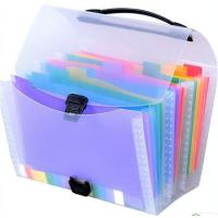 Buy cheap PP expanding file folders from wholesalers