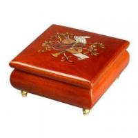 Buy cheap Inlaid Pattern Style Musical Wooden Jewellery Box from wholesalers