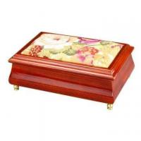 Buy cheap Fabric Tapestry Design Wooden Jewelry Case from wholesalers
