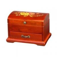 Buy cheap Double Deck Treasure Chest Ballerina Musical Jewelry Box from wholesalers