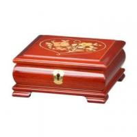 Buy cheap Glossy Lacquer Wooden Jewelry Music Box with Lock from wholesalers
