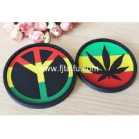 Buy cheap Colored soft rubber anti-slip bar wine coaster from wholesalers
