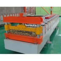 Buy cheap Standing Seam Metal Roofing Sheet Roll Forming Making Machine from wholesalers