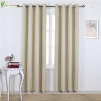 Buy cheap Beige Grommet Blackout Window Treatment Curtains from wholesalers