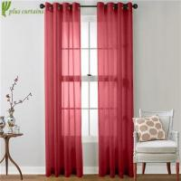 Buy cheap Beautiful Two Panels Solid Buy Grommet sheer Curtains from wholesalers