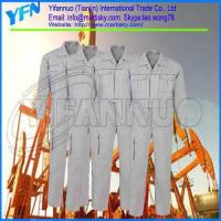 Buy cheap Jumpsuit Safety Fire Retardant Work Clothing Manufacture in China from wholesalers
