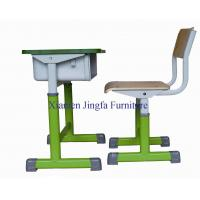 Buy cheap Height Adjustable Study Desk and Chair from wholesalers