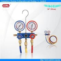 Buy cheap CM-136-G-R12 & R22 Aluminum Alloy Testing Manifolds Refrigerants Manifolds Series from wholesalers