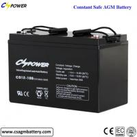 Buy cheap Excellent Quality 12V100Ah SLA Deep Cycle AGM Battery from wholesalers