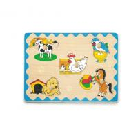 Buy cheap Wooden Flat Puzzles from wholesalers