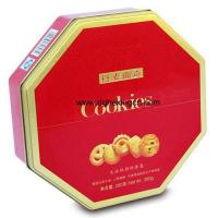 Buy cheap Octagonal cookie cake tin box from wholesalers