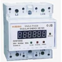 DDM100SE Single-phase Two-wire Electronic DIN-rail Active Energy Meter (4-Pole, LED Display)