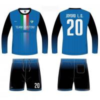 Buy cheap Professional design OEM team jerseys football 6JB39137 from wholesalers