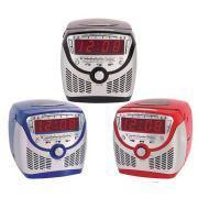 Buy cheap New Flash MP3 Player With Screen Stereo CD Player with LED Clock Radio from wholesalers