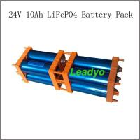 Buy cheap 24V 10Ah LiFePO4 Battery Pack LY-F08S001-106/ from wholesalers