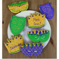 Buy cheap Mardi Gras Cookies Party Favors from wholesalers