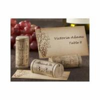 Buy cheap Wine Cork Placecard Photo Holders - Set of 4 from wholesalers