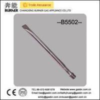 Buy cheap B5502 stainless steel straight gas grill tube commercial gas burner from wholesalers