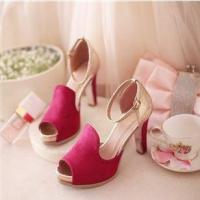 Buy cheap Bridal Shoes Sandles Rubber Soled Locked Designers Ballroom Dance from wholesalers