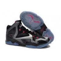Buy cheap A Lifestyle Model Lebron 11 Grey Black Pink Shoe For Womens from wholesalers