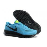 Buy cheap A Global Athletic Air Max 2014 Black Sky Blue from wholesalers