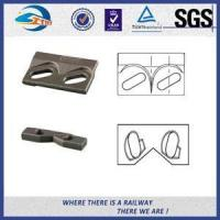 Buy cheap LaseRailroad Construction Boltable Rail Clips Self blocking High Strengthr from wholesalers
