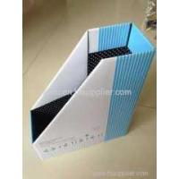 Buy cheap A4 file box Match The National Curriculum A4 filepaper magazine file holder from wholesalers