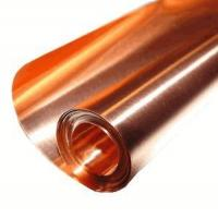 Buy cheap Copper Sheets and Rolls 36 X 10' / 32 Mil (20 Gauge) Copper Sheet from wholesalers