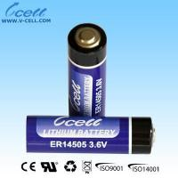 Buy cheap 3.6V ER14505 AA LiSOCL2 Lithium Battery from wholesalers