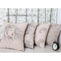 Buy cheap pillow 2020-274/275/276/277linen pillow with embroidery from wholesalers