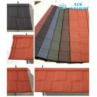 Buy cheap Shingle Type Corrugated Colour Stone Coated Steel Roofing Sheets Metal Roofing Materials from wholesalers