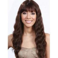 Buy cheap Premier Top Quality 100% Remy Human Hair Long Water Wavy Capless Wig about 20 Inches from wholesalers