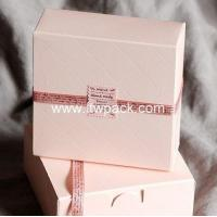 Buy cheap ping cookies box Cake Box from wholesalers