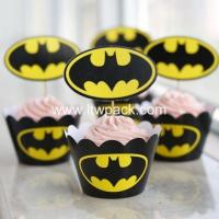 Buy cheap smile cupcake wrapper Cupcake Wrapper from wholesalers