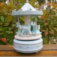 Buy cheap carousel horse music box from wholesalers