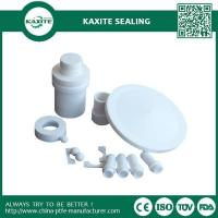 Buy cheap White CNC PTFE Machining Parts Of Ptfe Tube Ptfe Gaskets PTFE Sheet from wholesalers