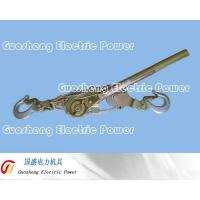Buy cheap 200T Hydraulic Pliers Ratcheting Cable Puller 2Hook from wholesalers