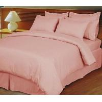 Buy cheap Stripe Pink/Blush Down Alternative Bed in a Bag, 100% Egyptian Cotton, 600 Thread Count from wholesalers