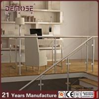 Buy cheap stainless steel baluster tempered glass balcony railing from wholesalers